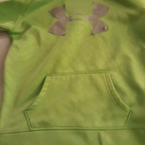 Under Armor Green Kids Sweater